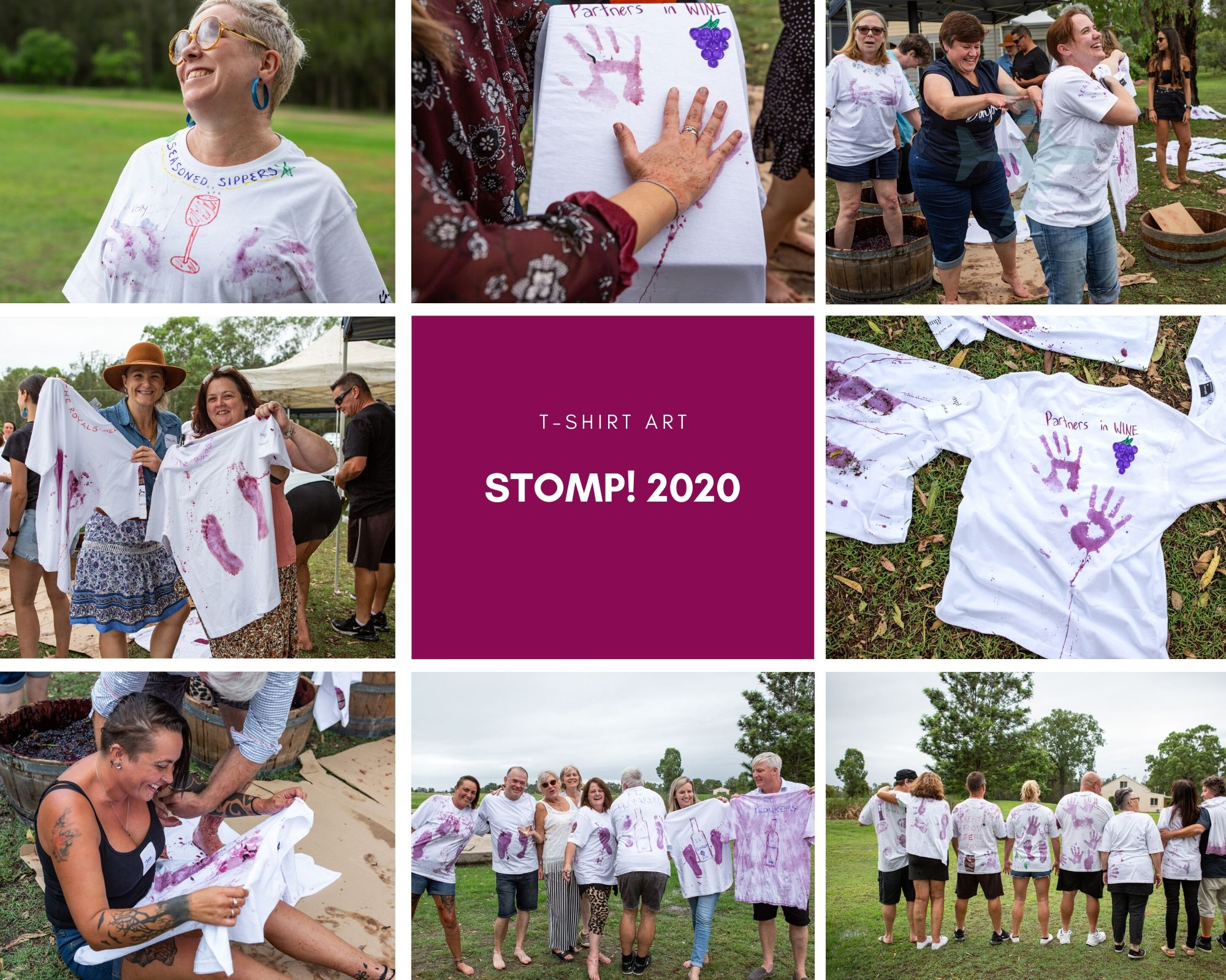 Stomp! 2020 T-shirt Art