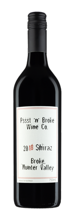Pssst 'n' Broke 2018 Shiraz